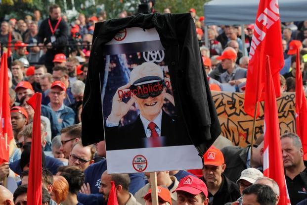 Работники ThyssenKrupp протестовали против планируемого слияния с Tata